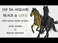 Thumbnail for the Jay Da Wizard - Black & Gold (Old Town Road Remix) link, provided by host site