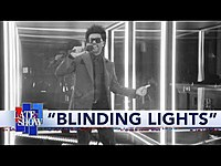 "Thumbnail for the The Weeknd - ""Blinding Lights"" link, provided by host site"