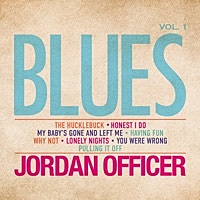 Thumbnail for the Jordan Officer - Blues, Vol.1 link, provided by host site