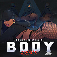Thumbnail for the Megan Thee Stallion - Body (Joel Corry Remix) link, provided by host site