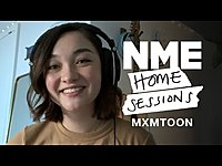 Thumbnail for the mxmtoon - 'Bon Iver' and 'Almost Home' | NME Home Sessions link, provided by host site