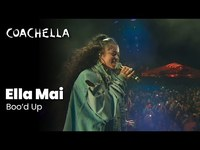Thumbnail for the Ella Mai - Boo'd up - Live at Coachella 2019 Friday April 12, 2019 link, provided by host site