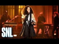 Thumbnail for the Ella Mai - Boo'd Up - SNL link, provided by host site