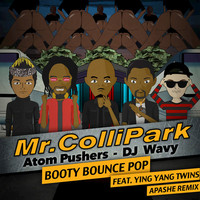Thumbnail for the Mr. Collipark - Booty Bounce Pop - Apashe Remix link, provided by host site
