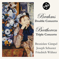 Thumbnail for the Orchestra of the Württemberg State Opera - Brahms: Double Concerto; Beethoven: Triple Concerto (VOX Reissue) link, provided by host site