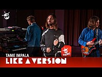 Thumbnail for the Tame Impala - 'Breathe Deeper' (live for Like A Version) link, provided by host site
