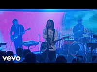 Thumbnail for the Tame Impala - Breathe Deeper (Live On Jimmy Kimmel Live! / 2020) link, provided by host site