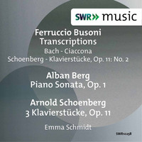 Thumbnail for the Emma Schmidt - Busoni: Piano Transcriptions - Berg: Piano Sonata, Op. 1 - Schoenberg: 3 Piano Pieces, Op. 11 link, provided by host site