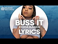 Thumbnail for the Erica Banks - Buss It link, provided by host site