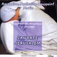 Thumbnail for the Les Fraternités Monastiques De Jérusalem - Cantate Jerusalem, Vol. 3: Ascension, Pentecôte, Toussaint & Vierge Marie link, provided by host site