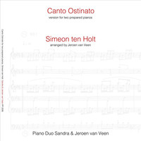 Thumbnail for the Sandra & Jeroen van Veen - Canto Ostinato: In An Arrangement for Two Prepared Pianos link, provided by host site