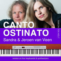 Thumbnail for the Sandra & Jeroen van Veen - Canto Ostinato: Version On Four Keyboards & Synthesizers link, provided by host site