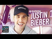 Thumbnail for the Justin Bieber - Carpool Karaoke 2020 link, provided by host site