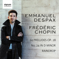 """Thumbnail for the Frédéric Chopin - Chopin: Prelude No. 24 in D Minor, Op. 28 """"Raindrop"""" link, provided by host site"""