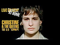 Thumbnail for the Christine and the Queens - Christine & The Queens (Live on KEXP at Home) link, provided by host site