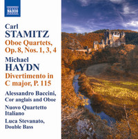 Thumbnail for the Carl Stamitz - Clarinet Quartet in F Major, Op. 8, No. 3: III. Presto link, provided by host site
