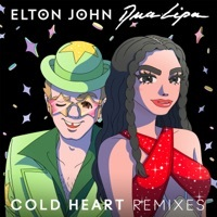 Thumbnail for the Elton John - Cold Heart (Claptone Remix) link, provided by host site