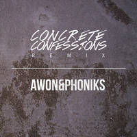 Thumbnail for the Awon - Concrete Confessions (Remix) link, provided by host site