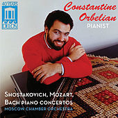 Thumbnail for the Constantine Orbelian - Constantine Orbelian: Shostakovich, Mozart, Bach Piano Concertos link, provided by host site