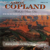 Thumbnail for the Aaron Copland - Copland Music For Piano Duo link, provided by host site