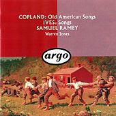 Thumbnail for the Warren Jones - Copland: Old American Songs / Ives: 10 Songs link, provided by host site