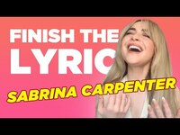 Thumbnail for the Sabrina Carpenter - Covers Miley Cyrus, Selena Gomez & More | Finish The Lyric | Capital link, provided by host site