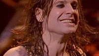Image of Ozzy Osbourne linking to their artist page due to link from them being at the top of the main table on this page
