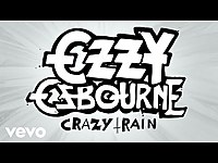 Thumbnail for the Ozzy Osbourne - Crazy Train (Official Animated Video) link, provided by host site
