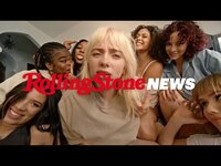 Thumbnail for the Billie Eilish - Creates Her Own Hype House in 'Lost Cause' Video | RS News link, provided by host site
