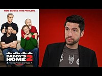 Thumbnail for the Jeremy Jahns - Daddy's Home 2 - Movie Review link, provided by host site