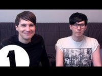 Thumbnail for the Dan and Phil - Dan & Phil's 1 Word Story Game link, provided by host site