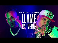 Thumbnail for the Nio Garcia - Llame Pa Verte (Video Oficial) link, provided by host site