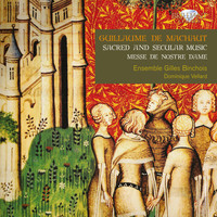 Thumbnail for the Guillaume de Machaut - De Machaut: Sacred and Secular Music link, provided by host site