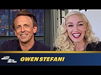 Thumbnail for the Gwen Stefani - Didn't Know Blake Shelton Existed Before She Joined The Voice link, provided by host site