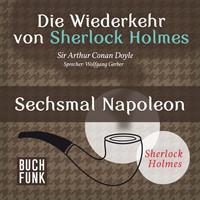 Thumbnail for the Sir Arthur Conan Doyle - Die Wiederkehr von Sherlock Holmes - Sechsmal Napoleon link, provided by host site