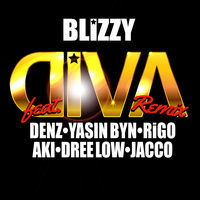 Thumbnail for the Blizzy - Diva (Remix) link, provided by host site