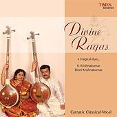 Thumbnail for the Binni Krishnakumar - Divine Ragas link, provided by host site