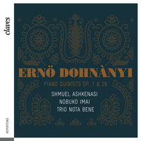 Thumbnail for the Ernst von Dohnányi - Dohnányi: Piano Quintets Op. 1 & 26 link, provided by host site