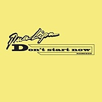 Thumbnail for the Dua Lipa - Don't Start Now (Remixes) link, provided by host site