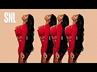 Thumbnail for the Megan Thee Stallion - Don't Stop [SNL Live Performance] link, provided by host site