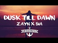 Thumbnail for the ZAYN - Dusk Till Dawn link, provided by host site