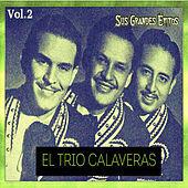 Thumbnail for the Trío Calaveras - El Trío Calaveras - Sus Grandes Éxitos, Vol. 2 link, provided by host site