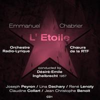 Thumbnail for the Joseph Peyron - Emmanuel Chabrier : L' Étoile (1957), Volume 1 link, provided by host site