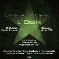 Thumbnail for the Joseph Peyron - Emmanuel Chabrier : L' Étoile (1957), Volume 2 link, provided by host site