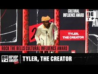 Thumbnail for the Tyler, The Creator - Emotionally Thanks Q-Tip, Missy Elliot, Pharrell & Others   Hip Hop Awards '21 link, provided by host site