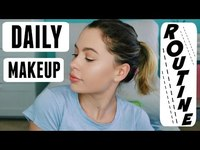 Thumbnail for the Natasha Bure - EVERYDAY MAKEUP ROUTINE link, provided by host site