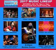 Thumbnail for the Ruthie Foster - FallsFest Music & Arts Festival link, provided by host site