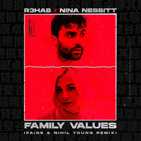 Thumbnail for the R3hab - Family Values (with Nina Nesbitt) (Paige & Nihil Young Remix) link, provided by host site