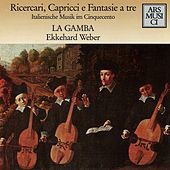 Thumbnail for the Ekkehard Weber - Fantasie, recercari contrapunti: Ricercar No. 7 link, provided by host site