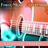 Thumbnail for the Lightnin' Hopkins - Finest Music Collection: Lightnin' Hopkins link, provided by host site